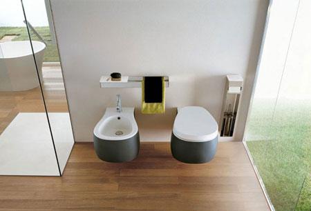 WC und Bidet Pear