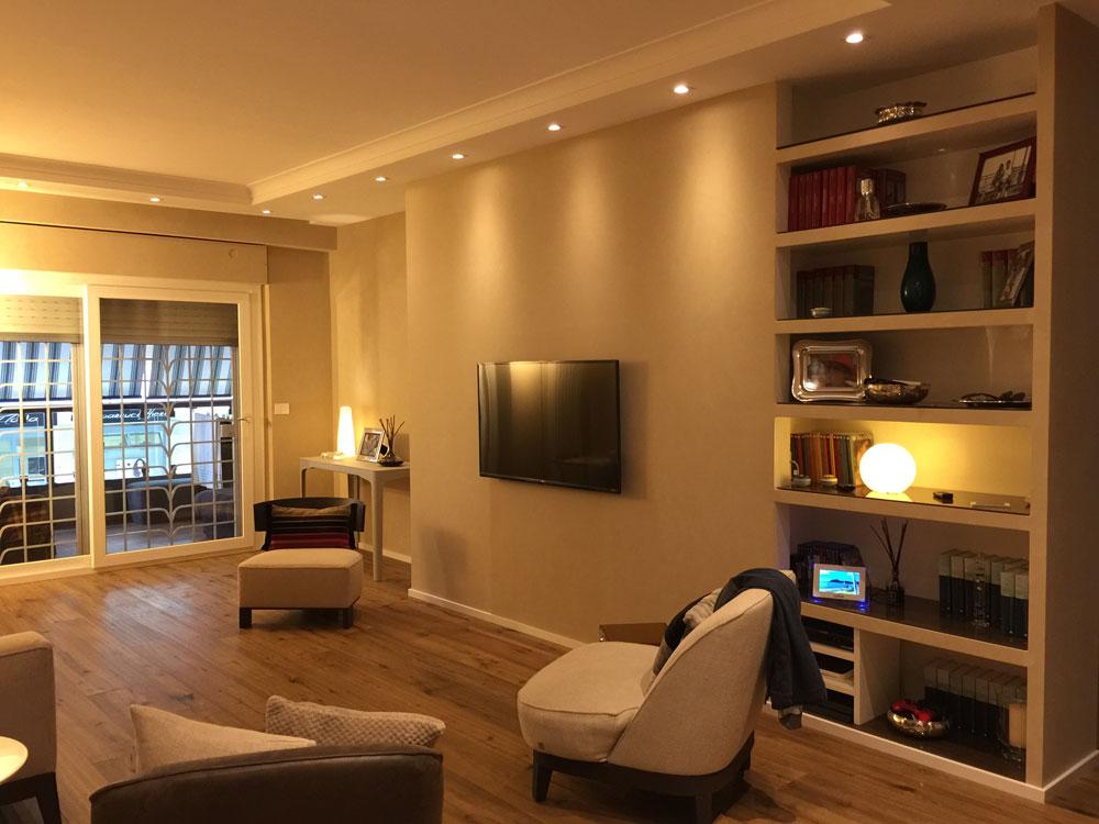Intervento di ristrutturazione di un appartamento in Roma