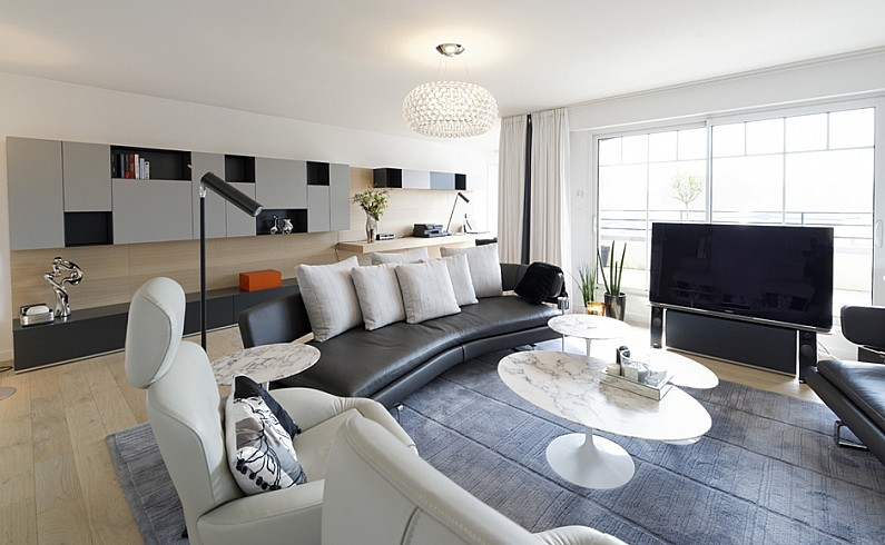 Rénovation d'un appartement de luxe à Le Touquet