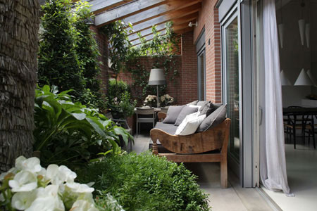 A Treviso un terrazzo per sentirsi sempre in vacanza