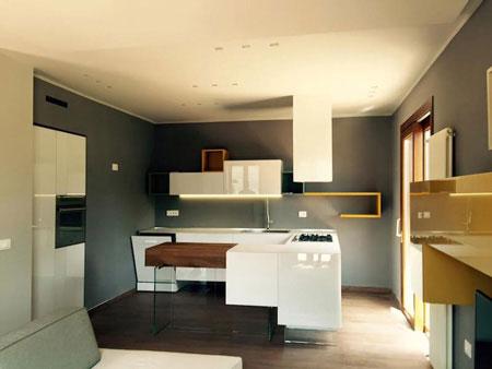 Cucina 36E8 di LAGO