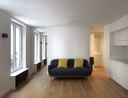 Paris pied-à-terre for 3 in 31 m2