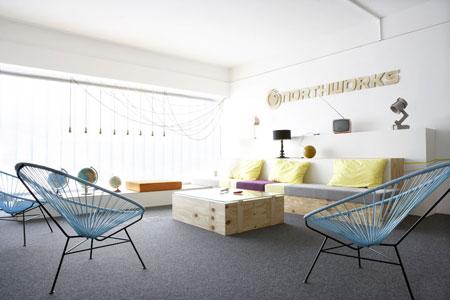 Lounge Northworks in Hamburg