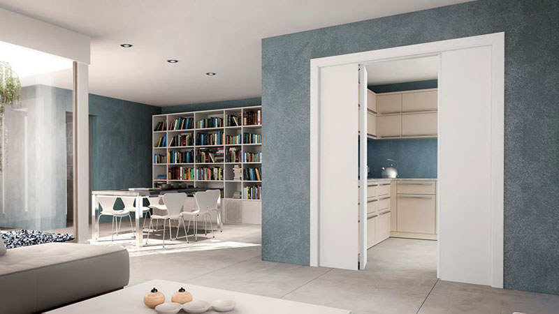 Applauso counter-frame suitable for folding doors