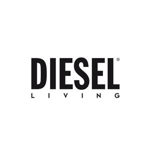 Logo Diesel Living With Moroso