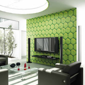 Mosaico Ecopelle - Iguana