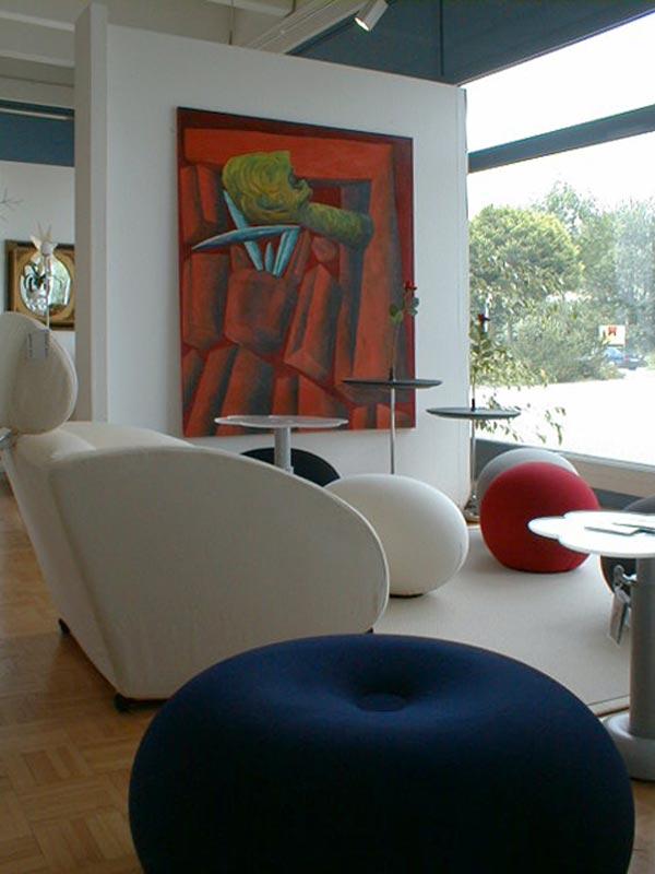 Dieter Horn - wohnen mit designmöbeln
