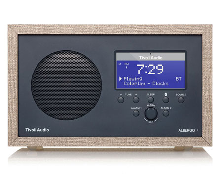 Radio-réveil Albergo+