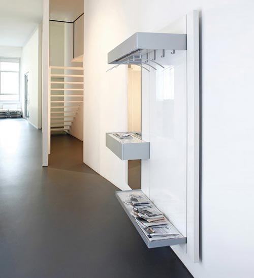 Sch nbuch garderoben kleiderst nder garderobe panel for Garderobe italienisches design