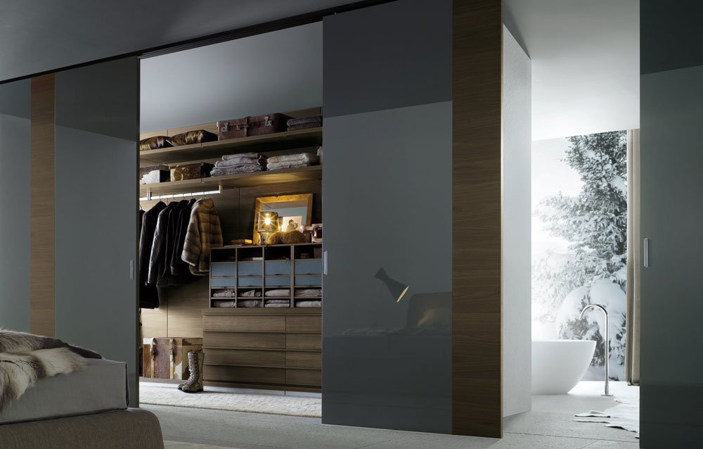 Walk In Closet Ubik. Design Centro Ricerche Poliform