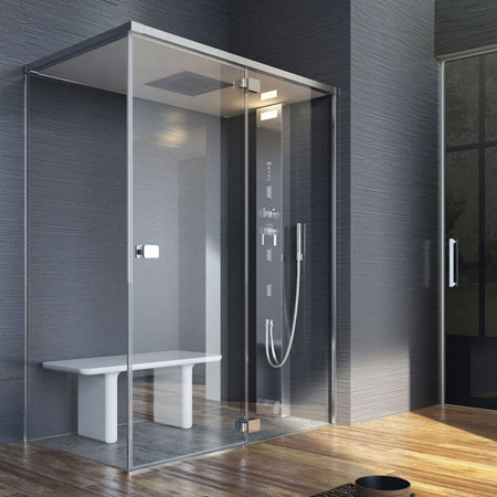 Cabine de douche Noor Steam