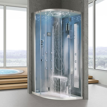 Cabina doccia Tempo Curvo