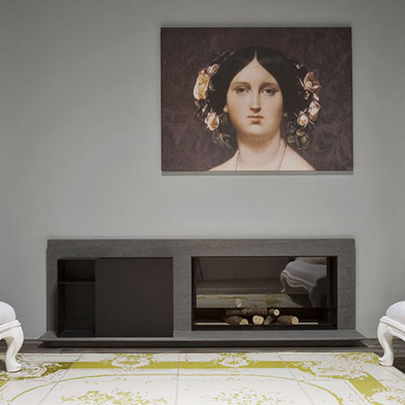 Fireplace Piano Fuoco