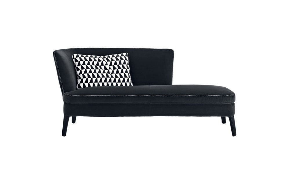 Chaise longue chaise longue febo by maxalto for Catalogos de sofas chaise longue