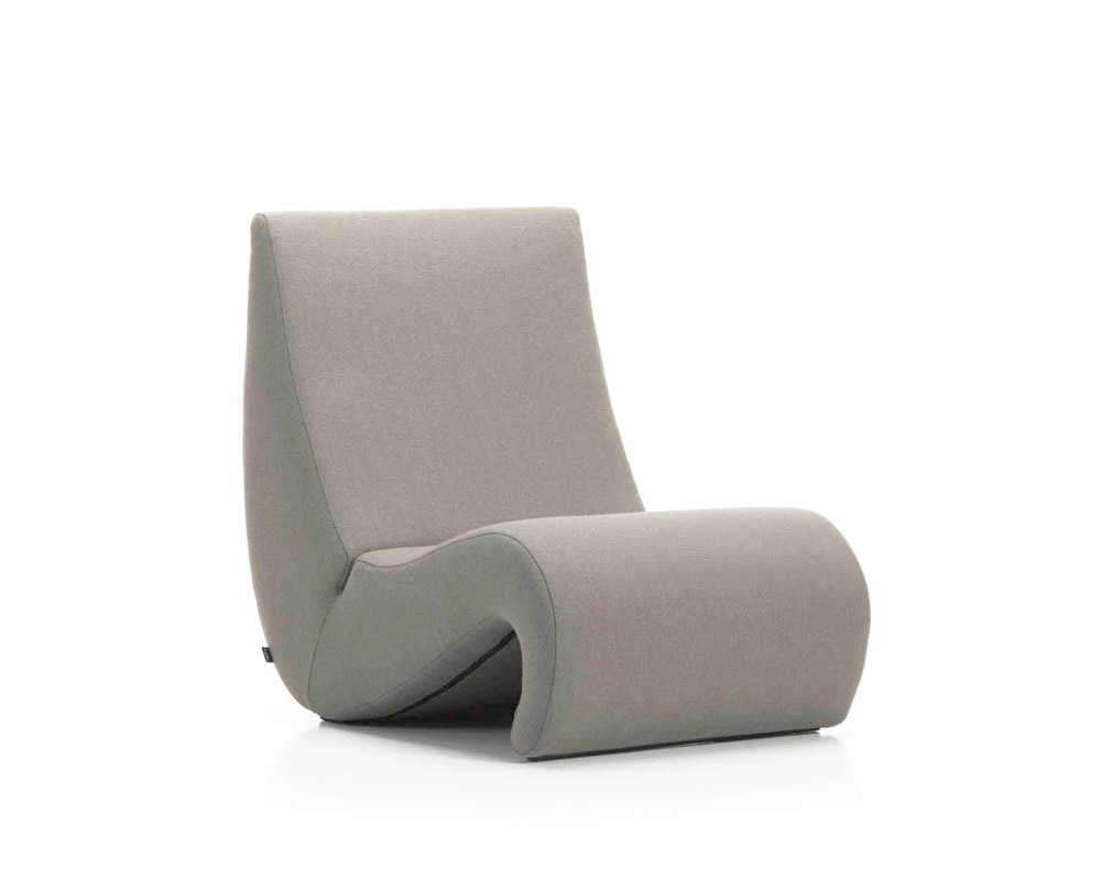 Vitra chaise longue chaise longue amoebe designbest for Chaise longue halle
