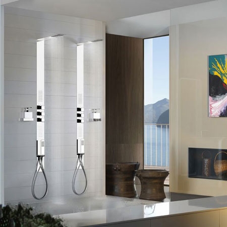 Shower panel iSpa