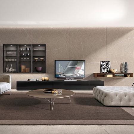Set Living E45 390 by Euromobil Cucine