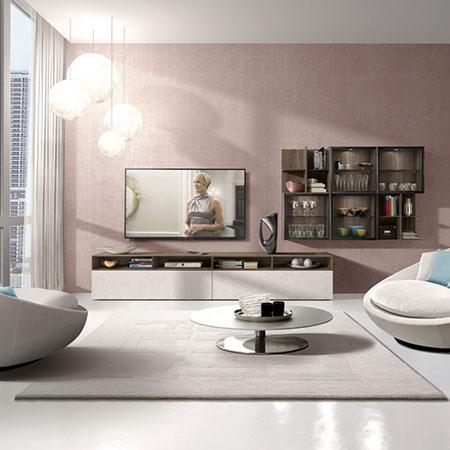 Set Living E90 950 by Euromobil Cucine