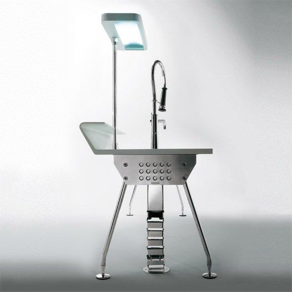 ernestomeda freistehende k chen k che solaris designbest. Black Bedroom Furniture Sets. Home Design Ideas