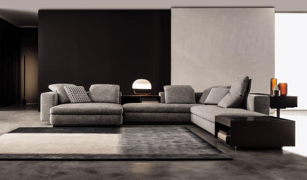 Corner Sofas Set Yang By Minotti