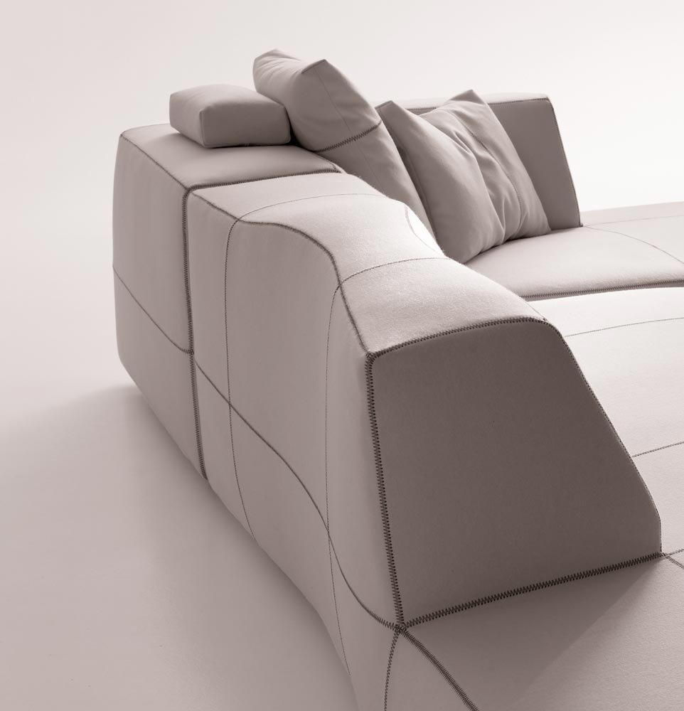 Modular Sofas Set Bend Sofa By BampB Italia