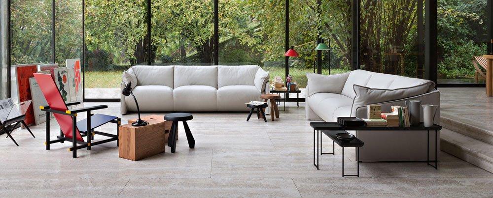 Three Seater Sofas Sofa La Mise By Cassina