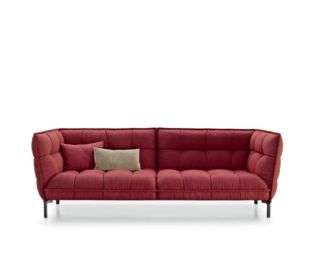 three seater sofas sofa husk sofa by b b italia. Black Bedroom Furniture Sets. Home Design Ideas
