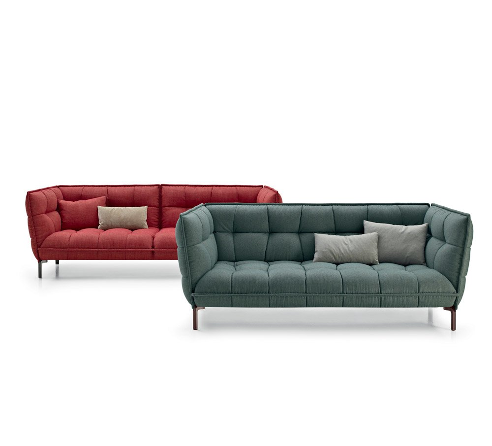 three seater sofas sofa husk sofa by b b italia. Black Bedroom Furniture Sets. Home Design Ideas