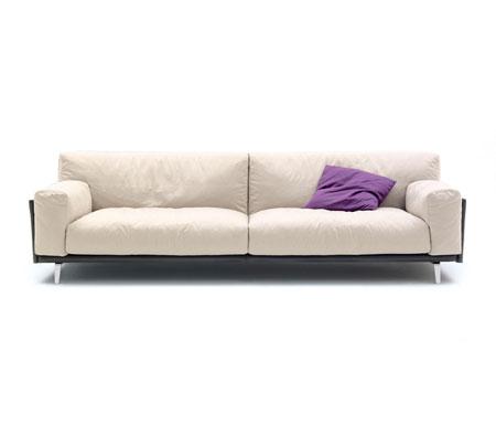 Canapé Frame Cuoio