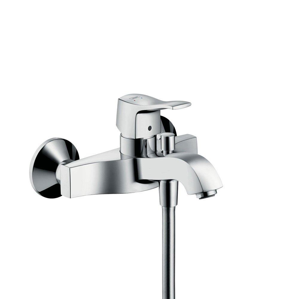 hansgrohe armaturen f r dusche und wanne badewannenarmatur metris classic designbest. Black Bedroom Furniture Sets. Home Design Ideas