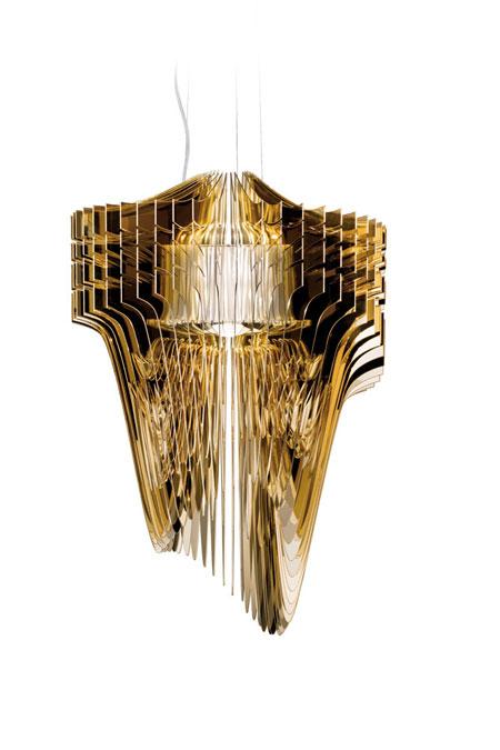 Lampada Aria Gold