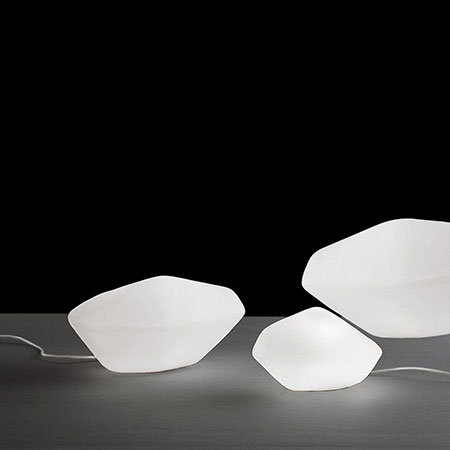 Leuchte Stone of Glass 202