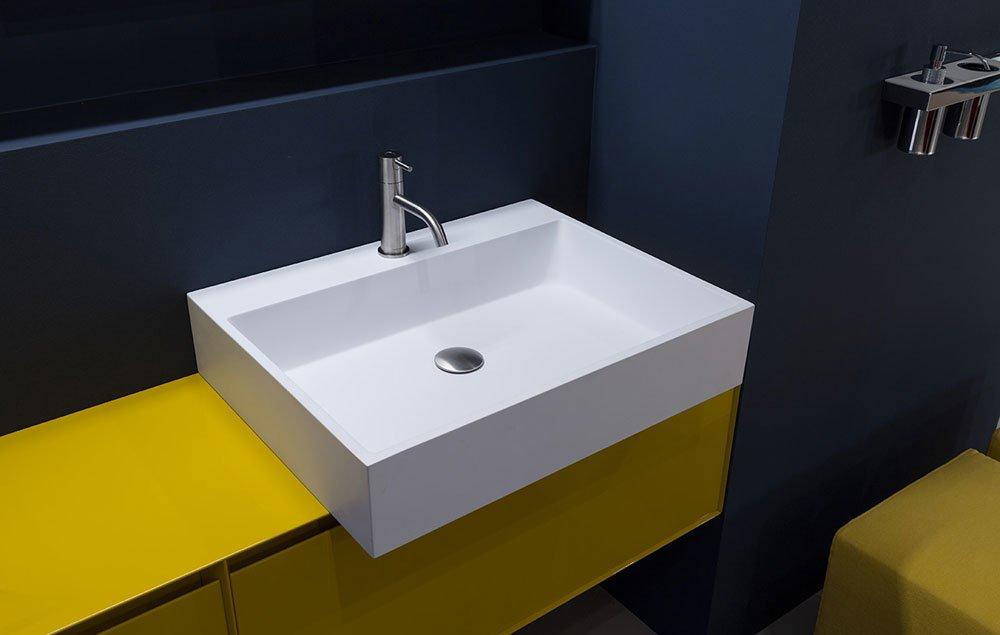 Washbasin: Lavabo Gesto by Antonio Lupi