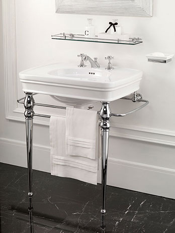 Lavabo consolle Rose