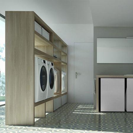 Mobile lavatoio Spazio Time 01