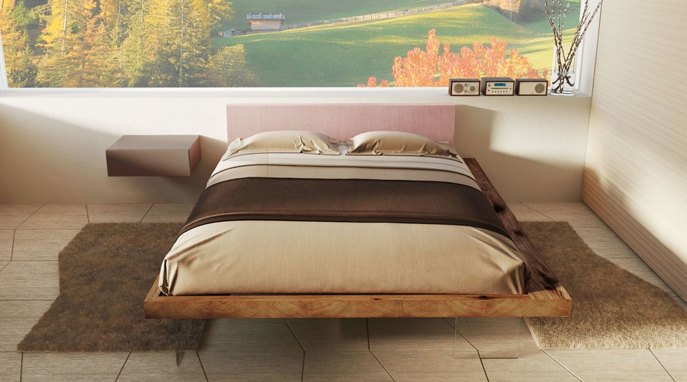 Double beds bed frame by lago for Letto wildwood lago prezzo