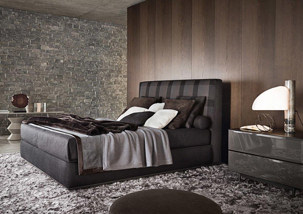 minotti doppelbetten bett powell designbest. Black Bedroom Furniture Sets. Home Design Ideas