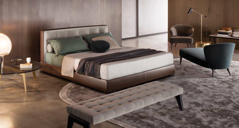 Minotti Doppelbetten Bett Bedford Bed Designbest