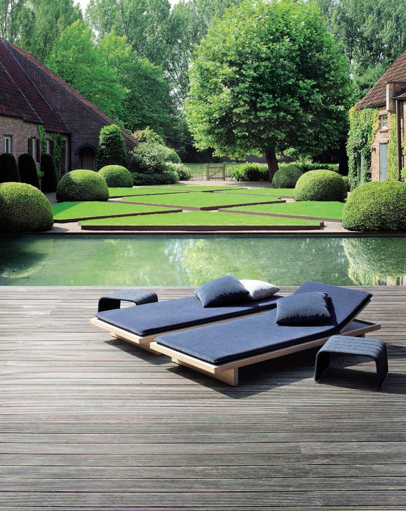 Sun Beds And Chaise Longue: Sunbed Sabi by Paola Lenti