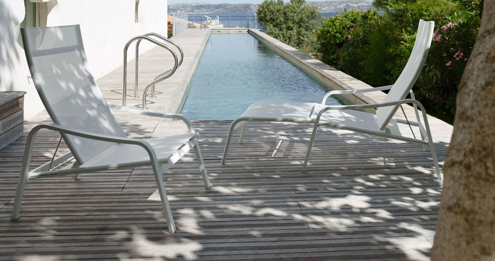 Sun Beds And Chaise Longue: Sunbed Alizé By Fermob