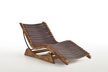 Chaise longue Michele