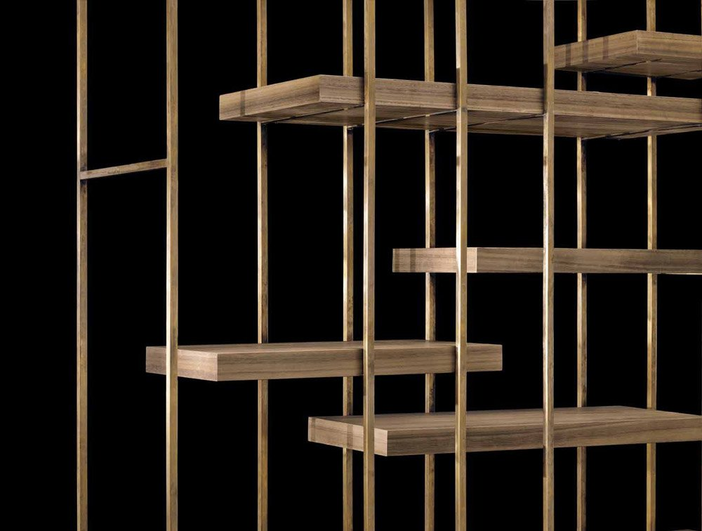 Bookcases And Shelving Units Bookcase Cage B By Henge