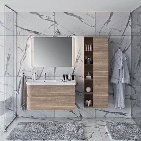 Mobili con lavabo berloni bagno arredo bagno catalogo for Designbest outlet