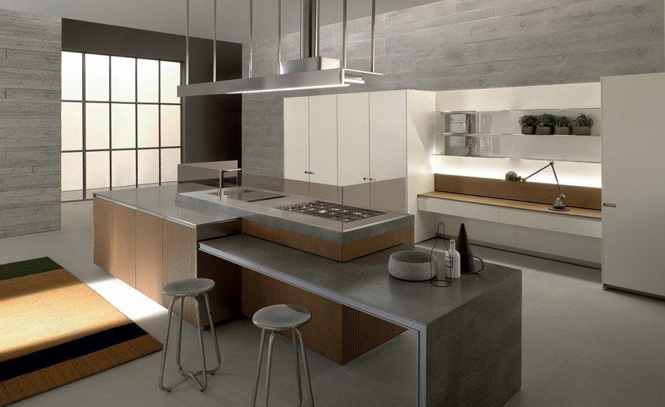 Modular Kitchens: Kitchen Icon by Ernestomeda