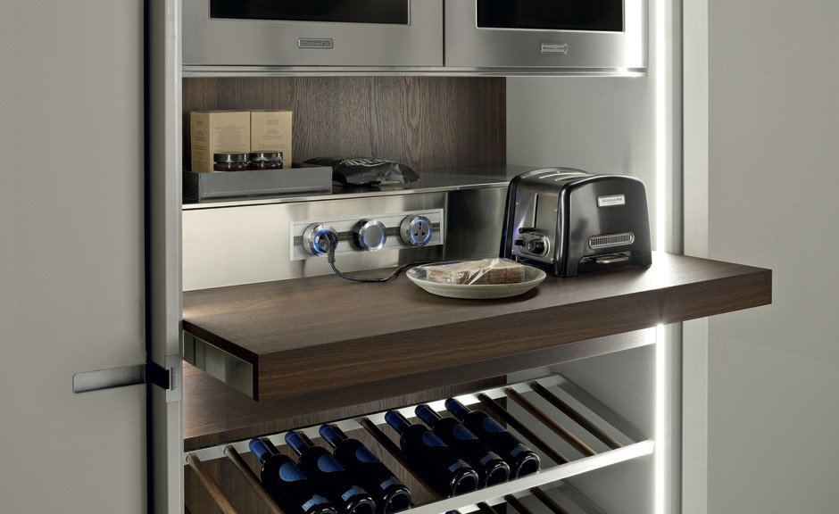 Modular kitchens kitchen icon by ernestomeda for Best material for modular kitchen cabinets