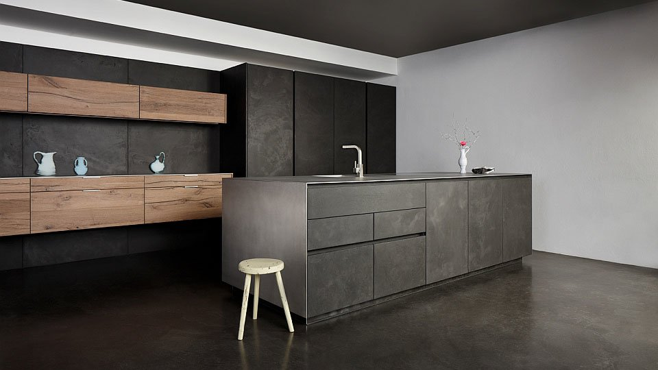 eggersmann k chenm bel k che beton altholz designbest. Black Bedroom Furniture Sets. Home Design Ideas