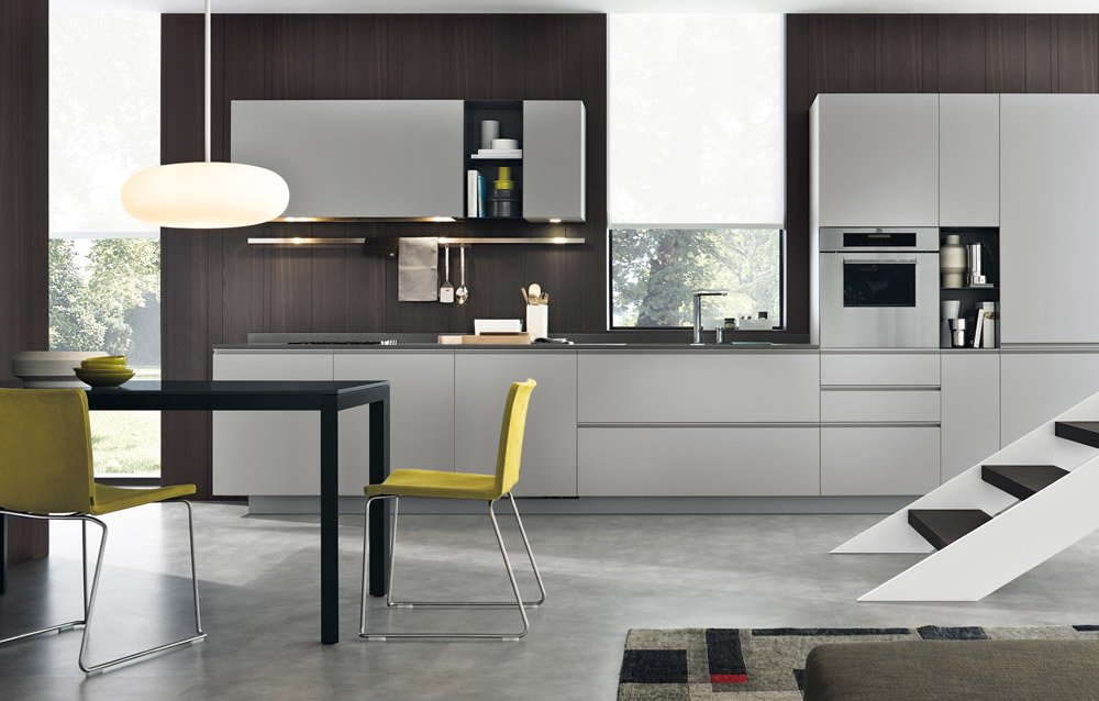 Modular Kitchens: Kitchen My Planet [B] by Varenna Poliform