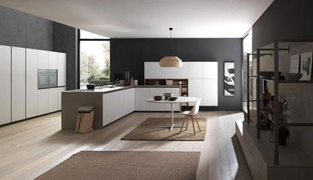 Kitchen Silica Penisola