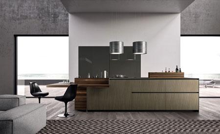 Küche Alumina Isola