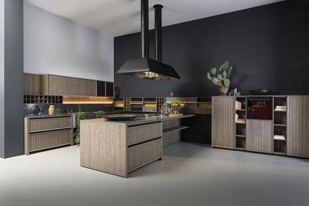 Kitchen Lignum Penisola